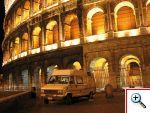 LIDAR al Colosseo. Questa immagine si apre in una nuova finestra e si potra' chiudere con il tasto access-key 'X'