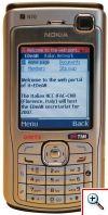 it-edean home page su Nokia N70. Questa immagine si apre in una nuova finestra e si potra' chiudere con il tasto access-key 'X'